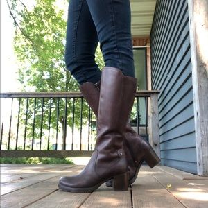 Dansko Brown Leather Riding Boots